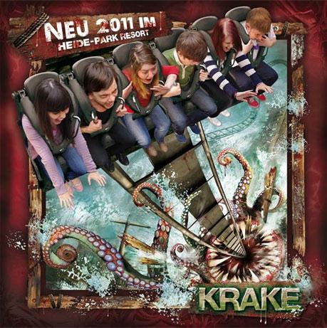 Krake © Heide Park Resort