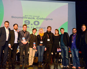Soundtrack Cologne 9.0 Gewinner mit Jury