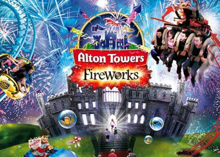 Alton Towers Fireworks