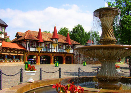 Heide Park Resort Entrance Area
