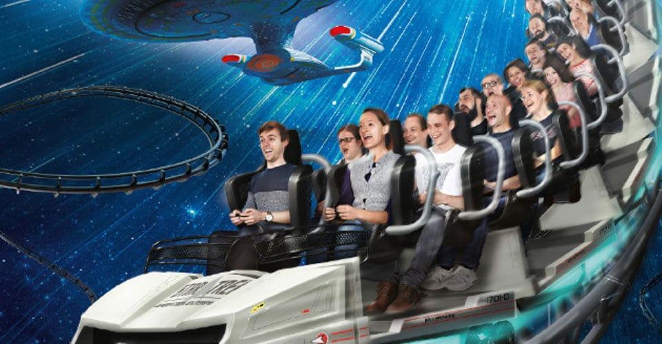Soundtrack for Movie Park Germany's Star Trek™: Operation Enterprise
