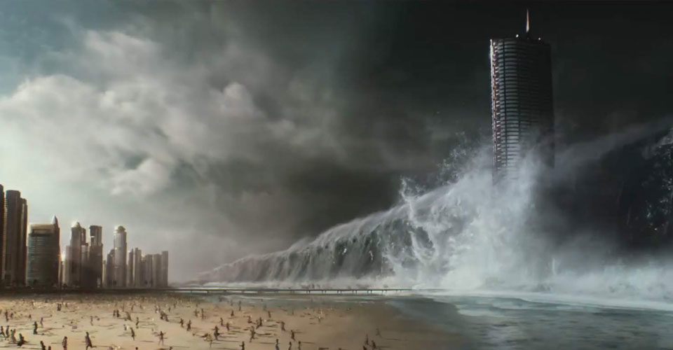 Geostorm's second main trailer with music and sound design by IMAscore