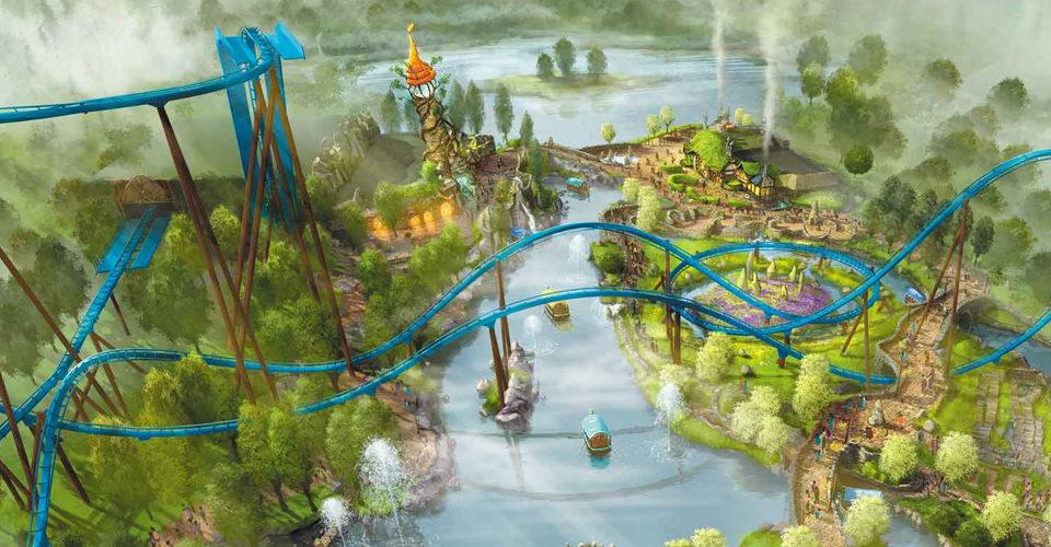 Toverland's new theme area Avalon soundtrack production