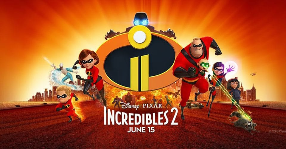 Custom music by IMAscore for Disney•Pixar's Incredibles 2