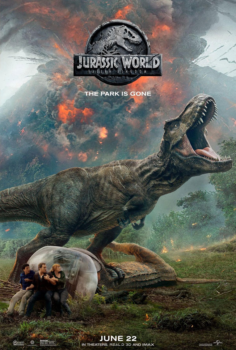 Jurassic World - Fallen Kindom Poster