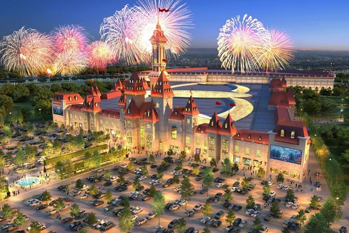 We're proud to announce our biggest project to date: The indoor theme park Dr…