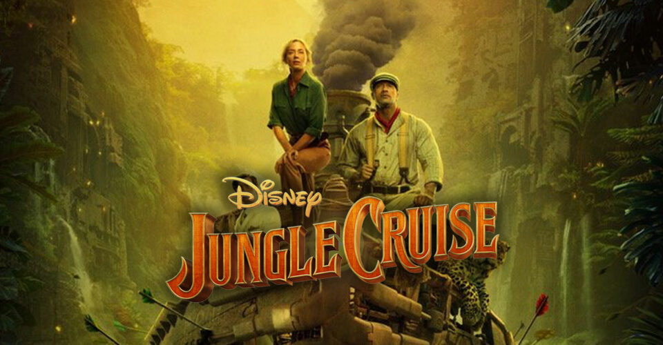 """All aboard Disney's Jungle Cruise! We're happy to have our track """"The Watchma…"""