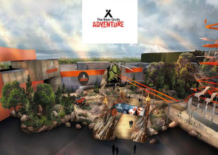 Bear Grylls Adventure Entrance Area