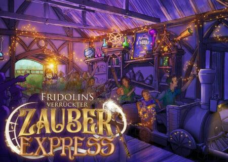 Fridolin's Verrückter Zauberexpress