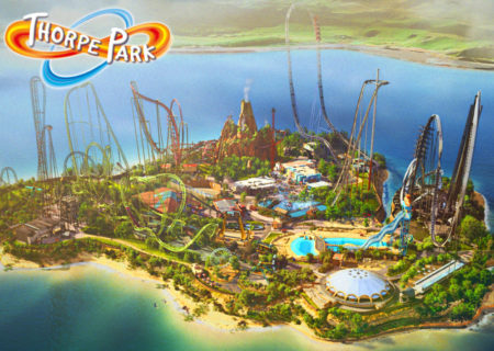Thorpe Park Resort Areas